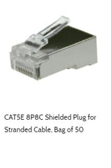 cat5e stranded shielded rj45