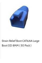 cat6a strain relief boot 8mm