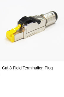 cat8 field termination plug