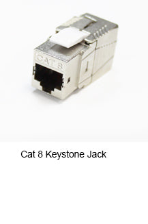 CAT8 Keystone Jack