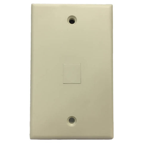 wall plate insert ivory