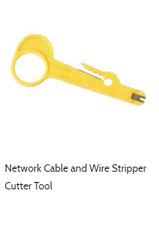cat6 shielded wire punch down and stripper