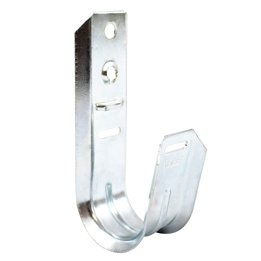 "2"" Wall Mount J-Hook Cable Support slide 1 of 3"