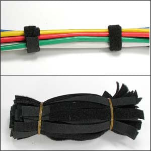 9 Inch Velcro Straps 1/2 Inch Width - 50 Pack