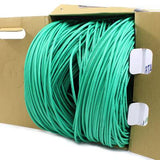 green cat5e cmp plenum rated bulk cable tup2404p03gr