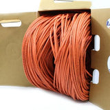 orange cat5e plenum cable 1000ft 24awg tup2404p03or