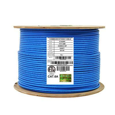 cat6a stranded 1000ft blue tsm2604s03bu