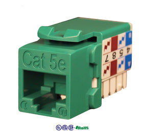 cat5e 90 degree keystone jack 8p8c
