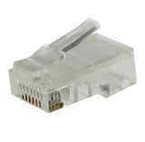 cat5e rj45 3 prong for solid wire quantity 50