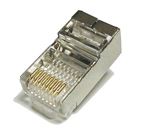 cat5e shielded plug top view rj45-8SC5