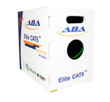 bulk green cat6 utp cm rated ethernet cables