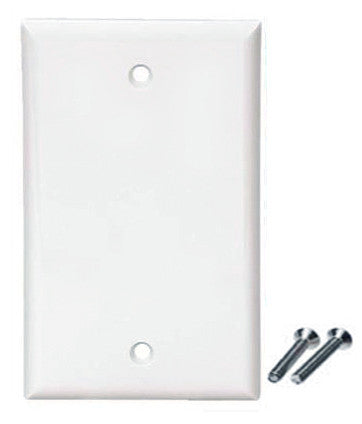 wall plate cover for home or office installation includes screws