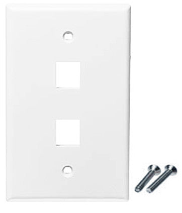 2 port wall plate