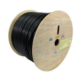cat 6 cmx cable 24awg utp in black tux2404xb41