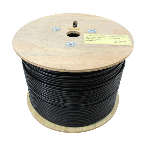 cat6 direct burial and outdoor cable 1000ft