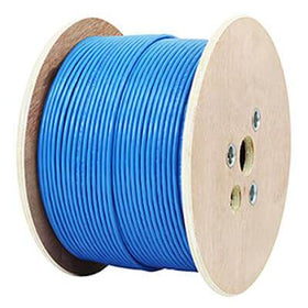 cat7a cmr riser shielded blue on reel side view
