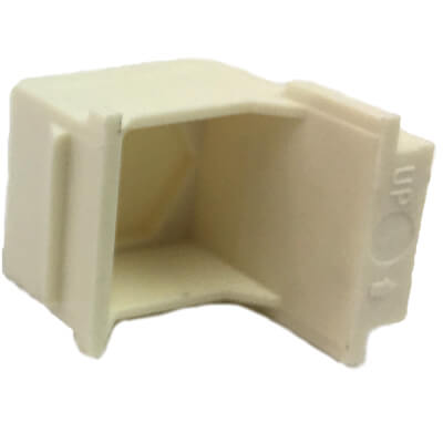 wall plate insert cube ivory