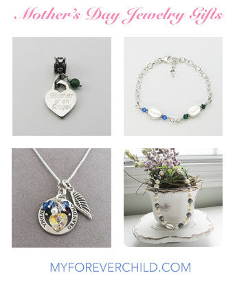 Mother's Day Jewelry Gift Guide for Mothers of Angels