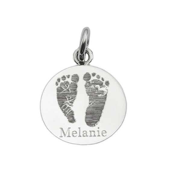 Custom Handprint-Footprint Jewelry