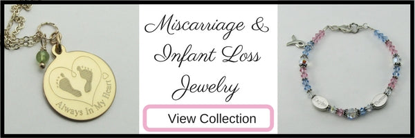 Shop Miscarriage, Stillbirth, Infant Loss Jewelry Memorial Keepsake Gifts by My Forever Child
