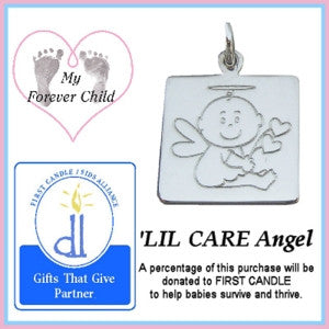 Lil Care Angel Charm fundraiser for First Candle