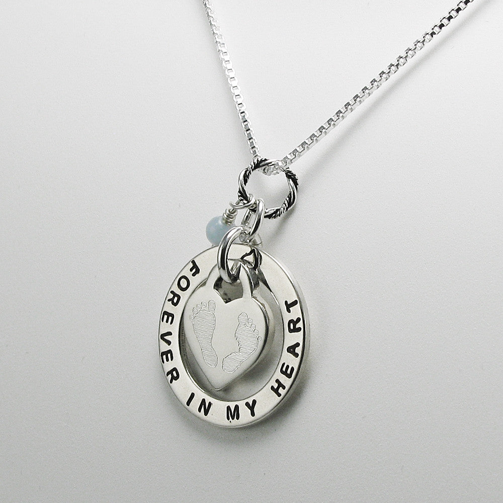 c miscarriage necklaces loss personalized memorial initial necklace keepsakes and baby infinity