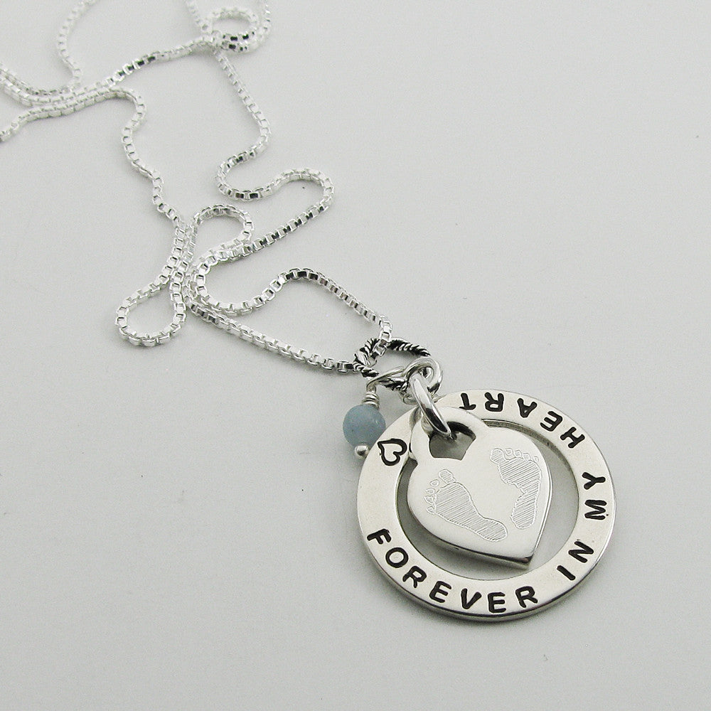 of baby gift children miscarriage necklace stamped loss fullxfull listing memorial il angel hand an pregnancy mommy
