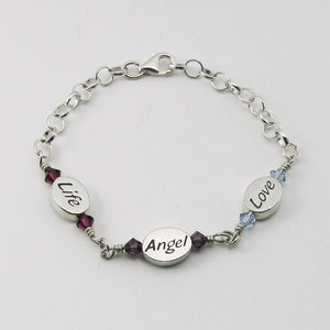 Personalized Memorial Bracelet for the Loss of a Child | My Forever Child