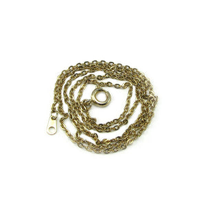 Yellow Gold Filled Cable Necklace Chain