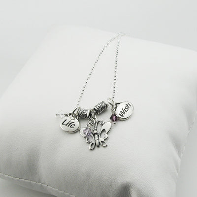 Miscarriage jewelry miscarriage necklace infant loss charm miscarriage jewelry miscarriage necklace infant loss charm necklace my forever child aloadofball Choice Image