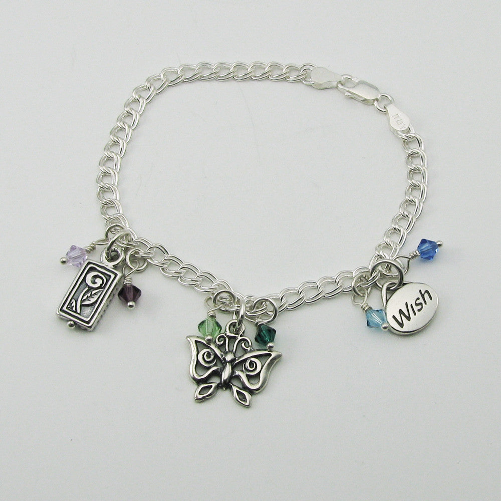 Miscarriage Infant Loss Charm Bracelet Miscarriage