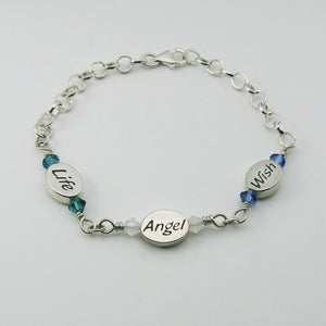 Miscarriage & Infant Loss Memorial Jewelry | Miscarriage Bead Bracelet | My Forever Child