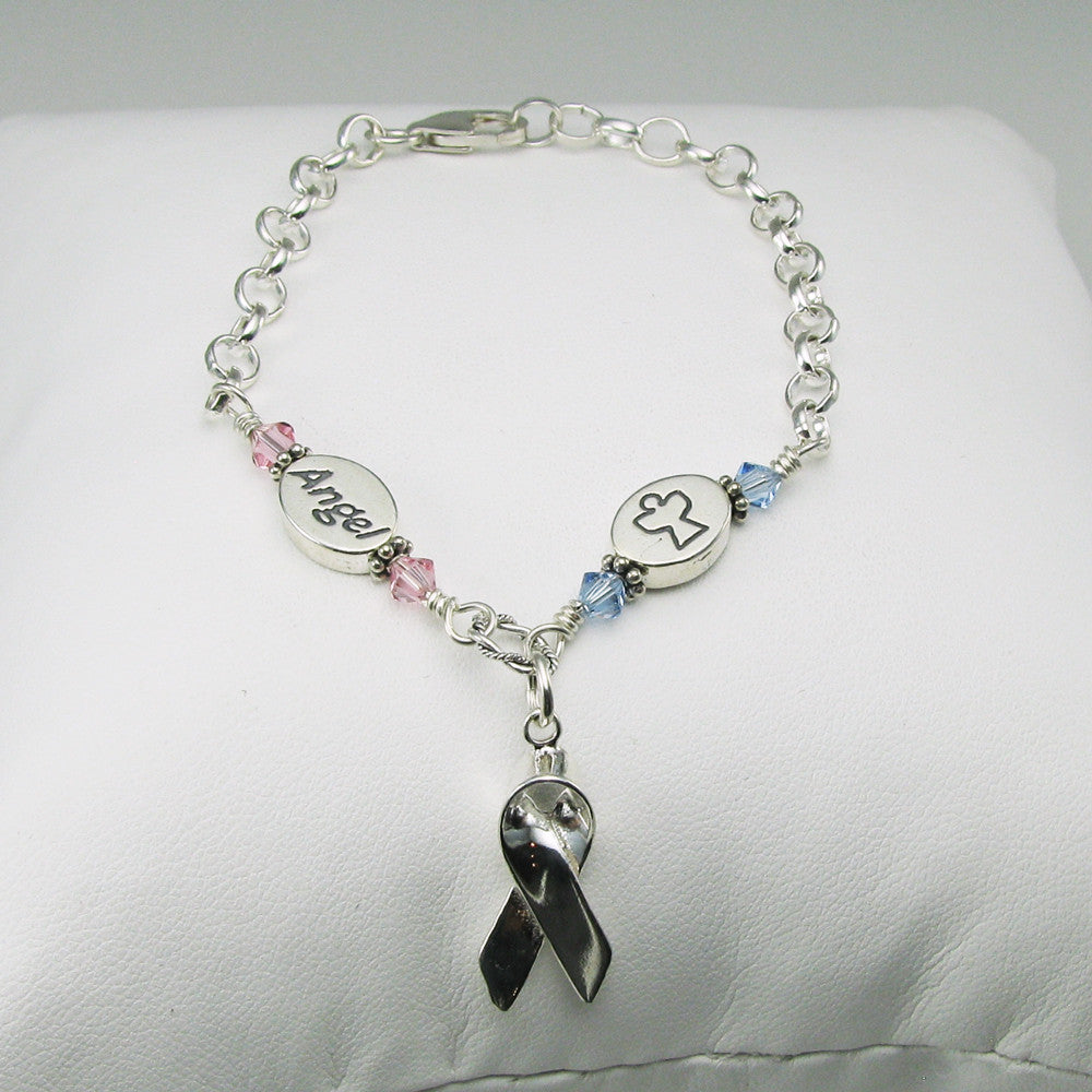 listing angel gift an memorial pregnancy necklace il loss miscarriage mommy stamped of hand children fullxfull baby