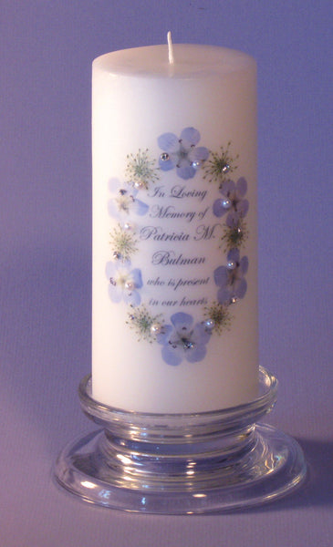 Queen Anne S Lace Flower 3 X 6 Personalized Memorial
