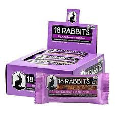18 Rabbits 12 pack Fig Cranberry & Hazelnut 1.6 oz
