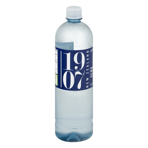 1907 Water, 24 pack case, New Zealand Artesian, 16.9 oz