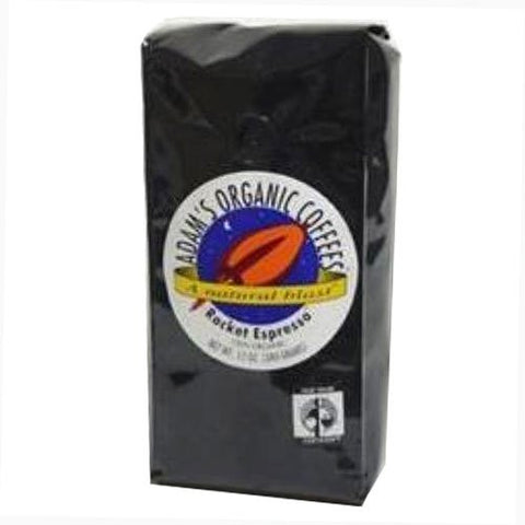 Adams Organic Coffees 1 ct Rocket Espresso Organic, Kosher 5 lb