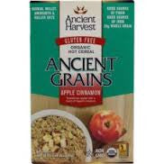 Ancient Harvest 8 pack case Cereal Apple Cinnamon Organic 10.58 oz
