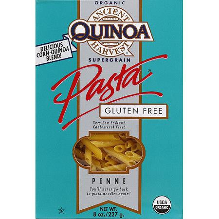 Ancient Harvest 12 pack case Pasta Penne Gluten Free Organic 8 oz