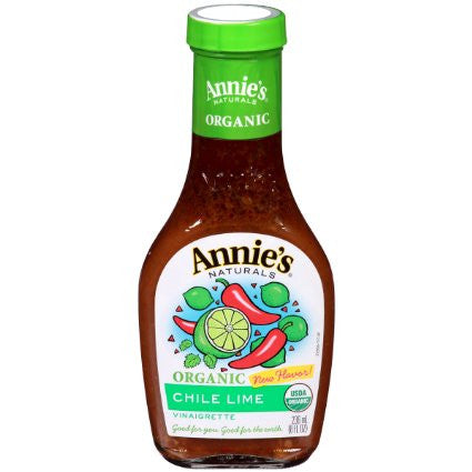 Annie`s Naturals 6 pack case Dressing Chile Lime Organic 8 oz