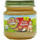 Earth`s Best 12 pack case, Baby Food, First Apples, Organic 2.5 oz