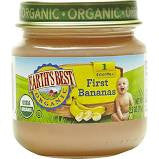 Earth`s Best , Baby Food, 12 pack case First Bananas, Organic 2.25 oz
