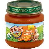 Earth`s Best 12 pack case Baby Food Carrots, Organic 4 oz
