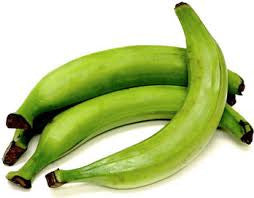 Banana 3 lb Plantain Green Fresh