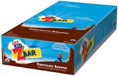 Clif Kid 18 pack case Zbar Organic Chocolate Brownie 1.27 oz
