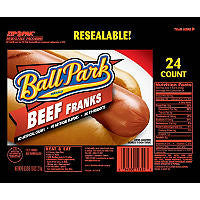 Ball Park 24 pack Beef Franks (3 lb)