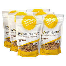 Bear Naked 6 pack case Granola Banana Nut 12 oz