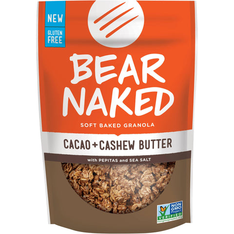 Bear Naked 6 pack case Cacao Cashew Butter 11 oz