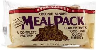 Bear Valley 12 pack Mealpack Coconut Almond 3.75 oz