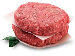 Ideal Meat 1 ct (30 patties) Hamburger Beef Patty 3-1 Wide Chuck Angus Fresh 10 lb